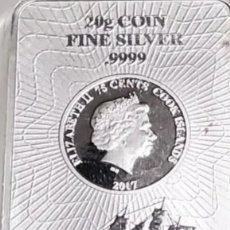 Monedas antiguas de Europa: LINGOTE DE PLATA DE 20 GRAMOS «COOK ISLAND» DE LA SUNSHINE MINT SMI. Lote 224682388
