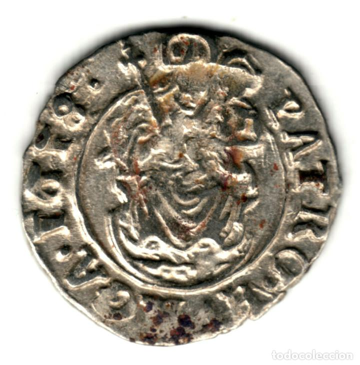 HUNGRIA DENAR PLATA 1618 K.B. EMPERADOR MATÍAS DE HABSBURGO - MATIAS II (Numismática - Extranjeras - Europa)