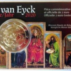 Monedas antiguas de Europa: BÉLGICA 2020 - JAN VAN EYCK - VERSION FRANCESA. Lote 277134093