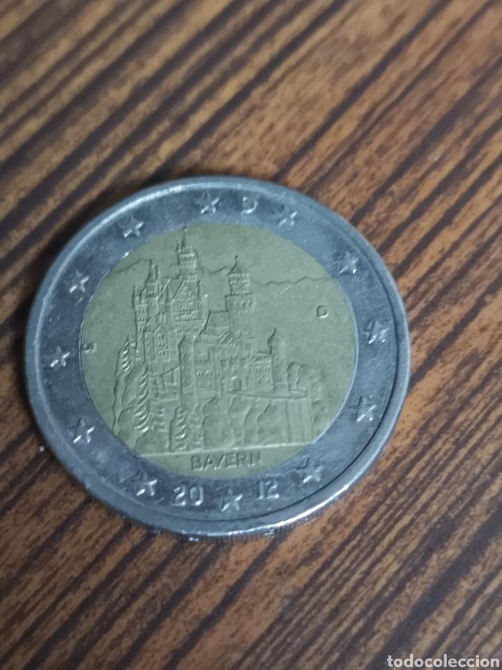 MO122. MONEDA DE 2 EUROS. 2012 BAYERN (Numismática - Extranjeras - Europa)