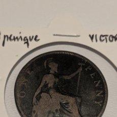 Monete antiche di Europa: MONEDA GRAN BRETAÑA. PENIQUE 1897. VICTORIANO. KM#790. Lote 225628510