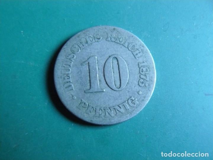 MONEDA DE ALEMANIA 10 PFENNING 1875 (Numismática - Extranjeras - Europa)