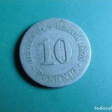 Monnaies anciennes de France: MONEDA DE ALEMANIA 10 PFENNING 1875. Lote 225825360