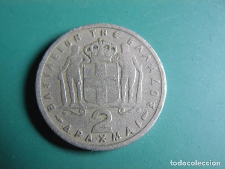 MONEDA DE GRECIA 2 DRACMAS 1954 (Numismática - Extranjeras - Europa)