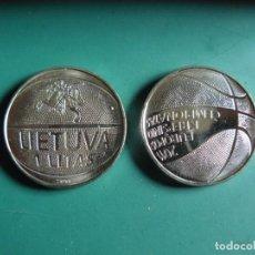 Monnaies anciennes de France: MONEDA DE LITUANIA 1 LITA 2011 EUROPEO DE BALONCESTO CONMEMORATIVA PROCEDE DE CARTUCHO SC. Lote 225834402