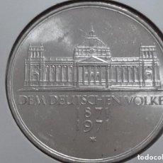 Monnaies anciennes de France: 5 MARCOS PLATA ALEMANIA 1971. Lote 225984935