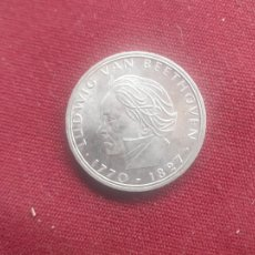 Monnaies anciennes de France: ALEMANIA. 5 MARCOS DE PLATA DE 1970. BEETHOVEN. Lote 226013295