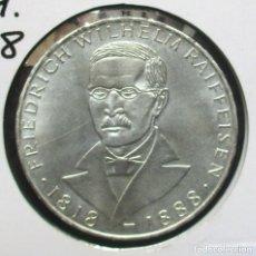 Monnaies anciennes de France: ALEMANIA OCCIDENTAL 5 MARCOS DEL AÑO 1968 J PLATA. Lote 226026665