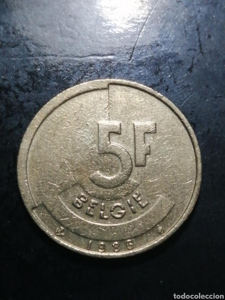 5 FRANCS DE 1986 BELGICA (Numismática - Extranjeras - Europa)