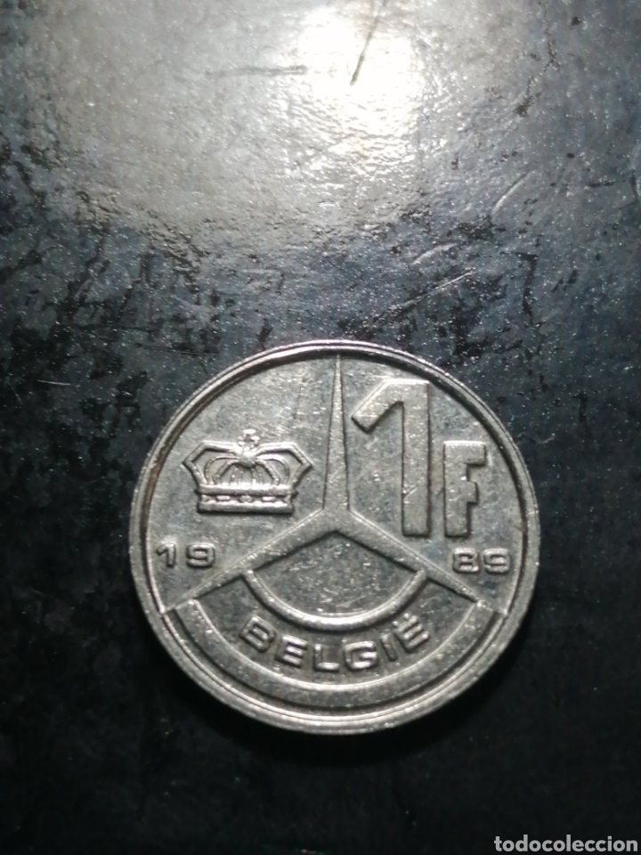 1 FRANC DE 1989 BÈLGICA (Numismática - Extranjeras - Europa)