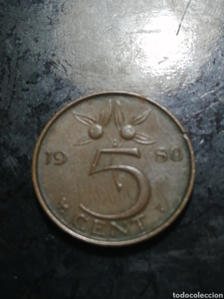 5 CENTIMOS DE 1980 PAISES BAJOS (Numismática - Extranjeras - Europa)