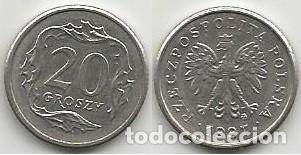 POLONIA 1997 - 20 GROSZY - Y 280 - CIRCULADA (Numismática - Extranjeras - Europa)