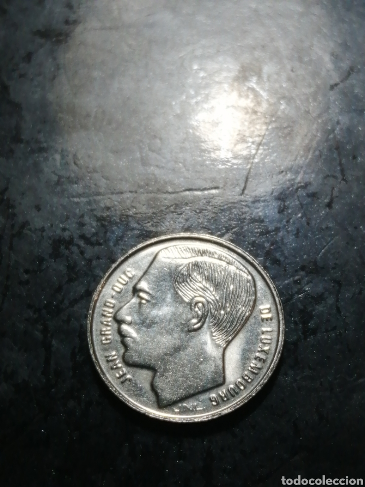 Monedas antiguas de Europa: 1 franc de 1991 Luxemburgo - Foto 2 - 226110290