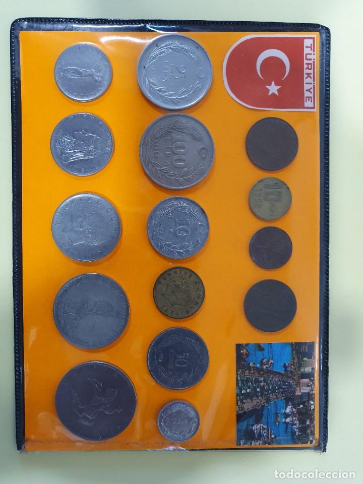 2 LOTES DE MONEDAS TURCAS (Numismática - Extranjeras - Europa)