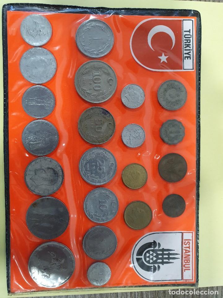 Monedas antiguas de Europa: 2 Lotes de Monedas Turcas - Foto 2 - 226110851