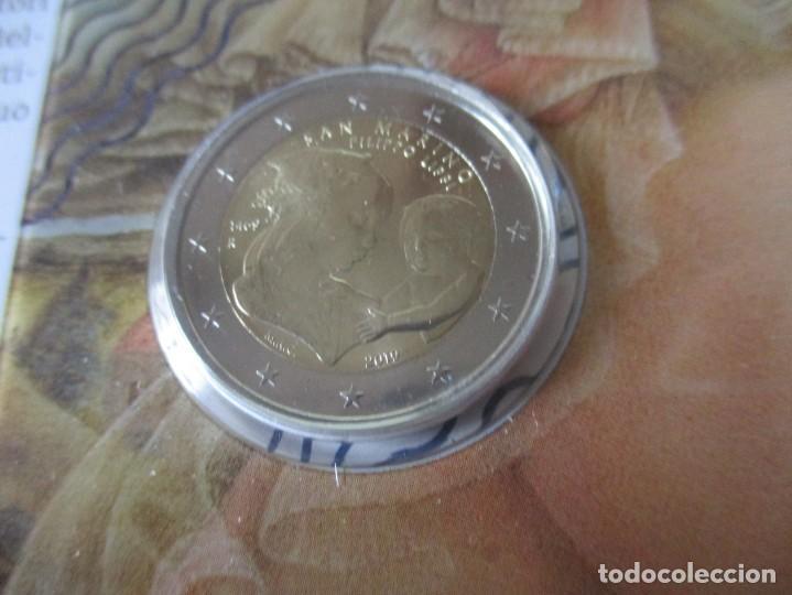 Monedas antiguas de Europa: San Marino. blister 2 euros 2019. Filippo Lippi - Foto 3 - 226781105