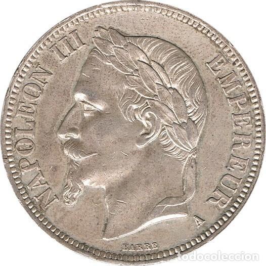 FRANCIA. NAPOLEÓN III, 5 FRANCOS 1.869 PARÍS (Numismática - Extranjeras - Europa)