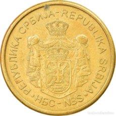 Monedas antiguas de Europa: MONEDA, SERBIA, 5 DINARA, 2012, MBC, NÍQUEL - LATÓN, KM:56. Lote 227445705