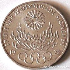 Monedas antiguas de Europa: ALEMANIA REP. FEDERAL 10 MARCOS PLATA OLIMPIADAS DE MUNICH 1972. Lote 220756783