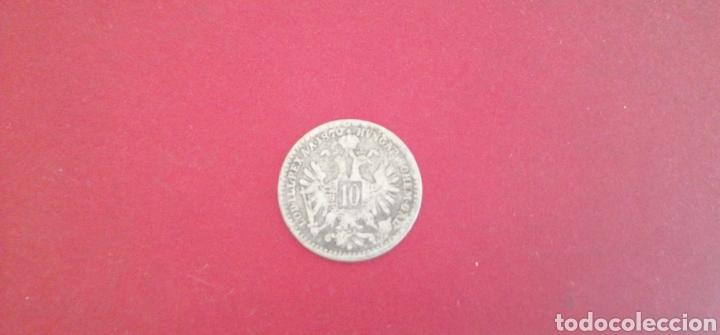 10 KREUZER DE AUSTRIA 1870. PLATA (Numismática - Extranjeras - Europa)