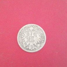 Monedas antiguas de Europa: 10 KREUZER DE AUSTRIA 1870. PLATA. Lote 227549610