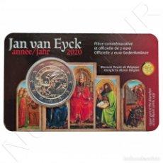 Monedas antiguas de Europa: BELGICA 2 EURO 2020 - JAN VAN EYCK (VERSION FRANCESA). Lote 227553770