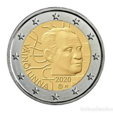 Monedas antiguas de Europa: FINLANDIA 2 EURO 2020 VÄINÖ LINNA - ESCRITOR FINLANDES S/C. Lote 227554050