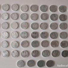 Monedas antiguas de Europa: MONEDAS (58) DE PLATA 2 MARCOS ALEMANIA. AÑOS 50 A 70. Lote 227561360