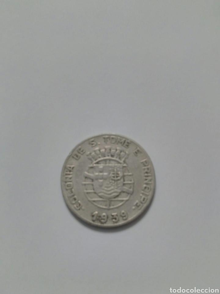 Monedas antiguas de Europa: Moeda são Tomé e príncipe - Foto 2 - 228561130