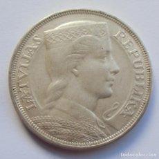 Monedas antiguas de Europa: LETONIA (LATVIA) 5 LATI 1929 KM#9 PLATA - SILVER. Lote 194126842