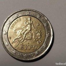 Monedas antiguas de Europa: 2 EUROS GRECIA. CECA S AÑO 2002. POSIBLE ERROR. MUY BIEN CONSERVADA. Lote 229882820