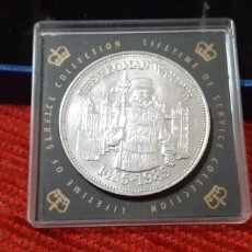 Monedas antiguas de Europa: INGLATERRA, 500 TH ANIVERSARY OF THE YEOMAN 1485-1985. Lote 230082975