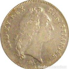 Monedas antiguas de Europa: FRANCIA. LUIS XV. JETÓN DE LA REAL ACADEMIA DE CIENCIAS. PLATA. Lote 231469500