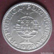 Monnaies anciennes de Europe: TIMOR COLONIA PORTUGUESA 1 ESCUDO 1958. Lote 231802335