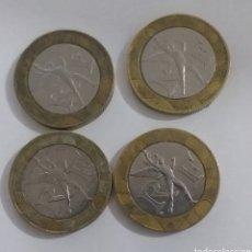 Monedas antiguas de Europa: 4 MONEDAS 10 FRANCOS 1988/1989/1990/1991. Lote 231932685