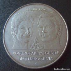 Monedas antiguas de Europa: SUECIA 50 CORONAS 1976 PLATA 27 GRAMOS.. Lote 232449440