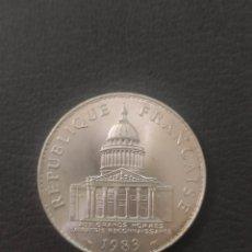 Monete antiche di Europa: REPUBLICA FRANCESA 100 FRANCOS PLATA 1983. Lote 232550450