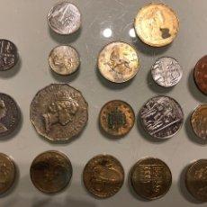 Monedas antiguas de Europa: LOTE DE 17 MONEDAS, CASI TODAS INGLESAS, TAMBIÉN DE CANADÁ Y AUSTRALIA. Lote 232751718
