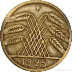 Monedas antiguas de Europa: ALEMANIA. (REPÚBLICA DE WEIMAR). 5 REICHSPFENING DE 1925, MARCA CECA F (STUTTGART).. Lote 232966090