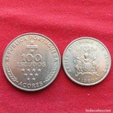 Monete antiche di Europa: AZORES 25, 100 ESCUDOS 1980 PORTUGAL. Lote 233314130