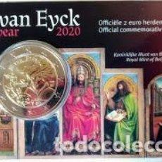 Monete antiche di Europa: BÉLGICA 2020 - JAN VAN EYCK - VERSION HOLANDESA. Lote 233413465