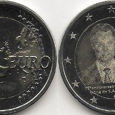 Monedas antiguas de Europa: LUXEMBURGO 2 EUROS 2015 ASCENSIÓN AL TRONO SC. Lote 263206210