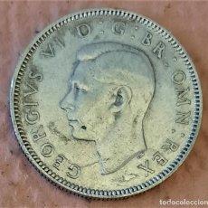 Monedas antiguas de Europa: GRAN BRETAÑA. ESCOCIA. 1 CHELÍN 1945. PLATA. II GM. JORGE VI.. Lote 233984100