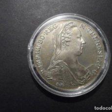 Monedas antiguas de Europa: 1 TALER MARIA THERESIA 1870. PLATA. CECA VIENA. LEY 0,833 MM. ACUÑACION AÑOS 1945-60.. SC. Lote 234366165