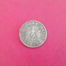 Monedas antiguas de Europa: 10 REICHPFENNIG DE ALEMANIA 1947. LETRA F. Lote 234462375