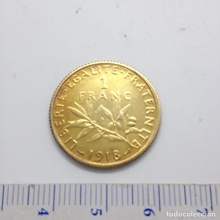 Monedas antiguas de Europa: MONEDAS DE PLATA FRANCESA,- 1 FRANCO - Foto 2 - 234784480