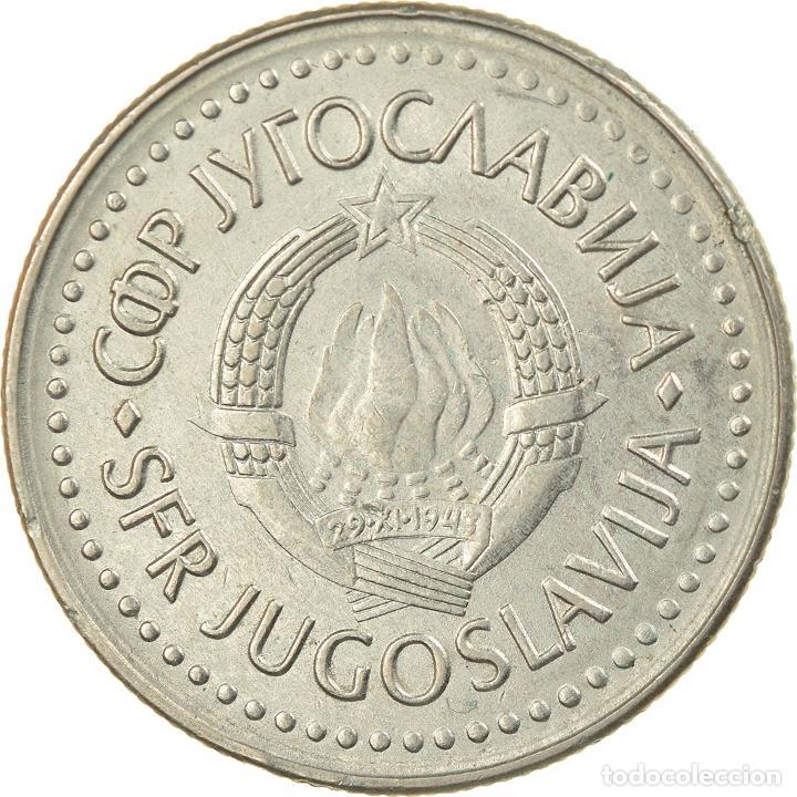 MONEDA, YUGOSLAVIA, 20 DINARA, 1986, EBC, COBRE - NÍQUEL - CINC, KM:112 (Numismática - Extranjeras - Europa)