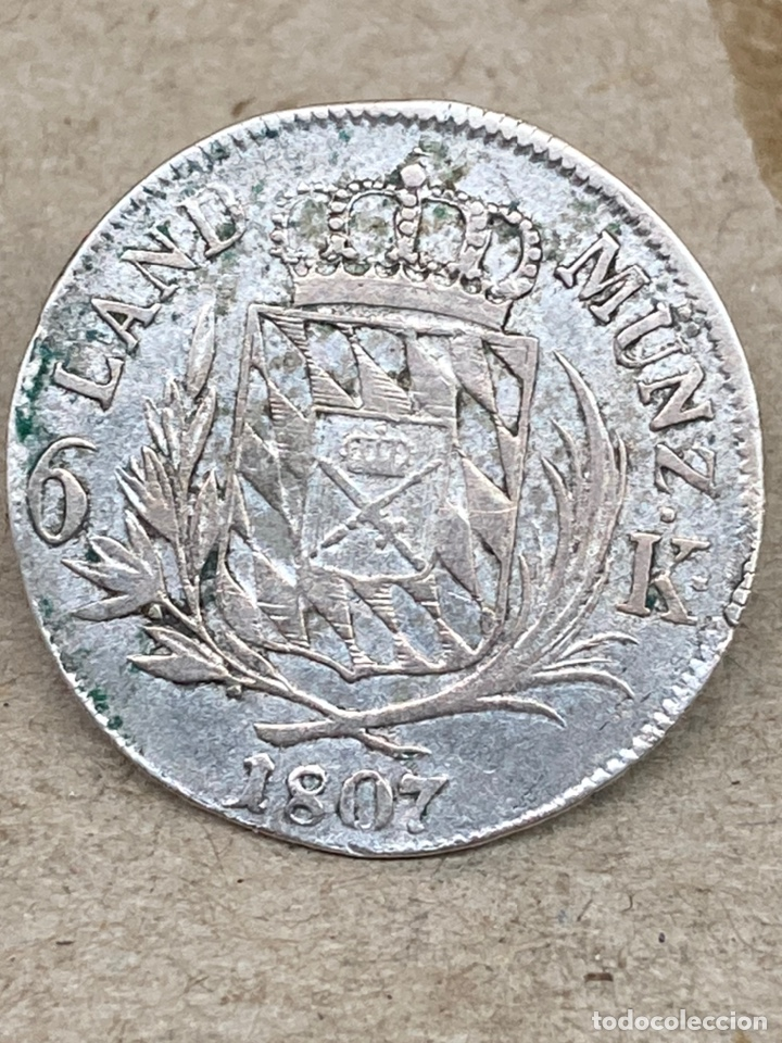 MONEDA DE PLATA 6K 1807 (Numismática - Extranjeras - Europa)