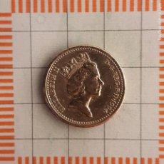 Monnaies anciennes de France: 1 LIBRA, GRAN BRETAÑA. ISABEL II, 1994. (KM#967). Lote 235162570