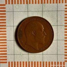 Monnaies anciennes de France: 1/2 PENIQUE, GRAN BRETAÑA. EDUARDO VII, 1906. (KM#793.2). Lote 235182690